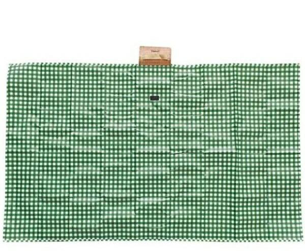 現代百貨GENDAIHYAKKAOliviaレジャーシートギンガムチェック(150×90cm/グリーン)GH-A397GR