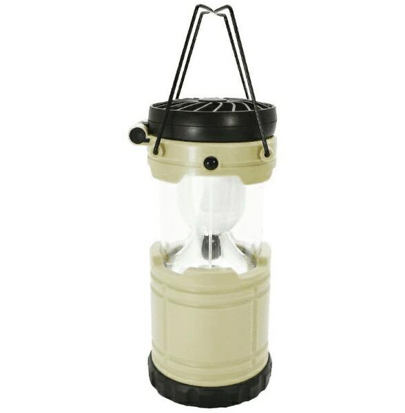 現代百貨GENDAIHYAKKALEDランタンファン機能付きBRIGHT&COOLER(φ85×H260mm/アイボリー)A400IV