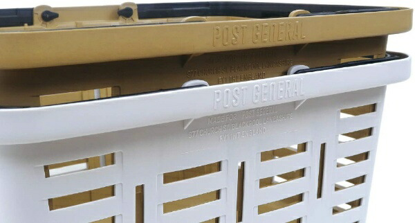 POSTGENERALポストジェネラルヘビーデューティーバスケット(W465×D385×H280mm/サンドベージュ)981940031