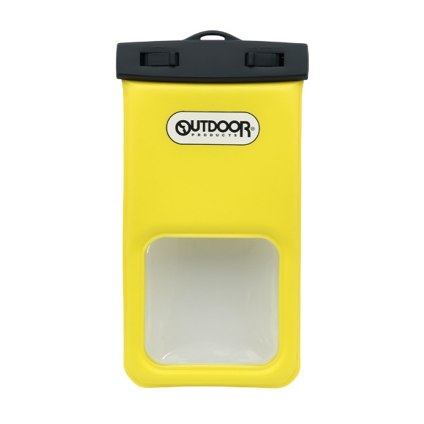 OWLTECHオウルテックOUTDOORPRODUCTSコラボレーションスマートフォン用防塵・防水ケースIP68取得OUTDOORPRODUCTSイエローOWL-WPCSP17-YE