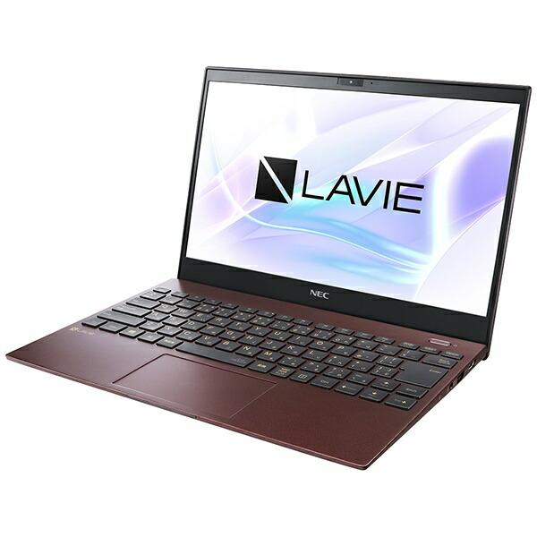 NECエヌイーシーPC-PM750SARノートパソコンLAVIEProMobileクラシックボルドー[13.3型/intelCorei7/SSD:512GB/メモリ:8GB/2020年夏モデル][13.3インチoffice付き新品windows10]