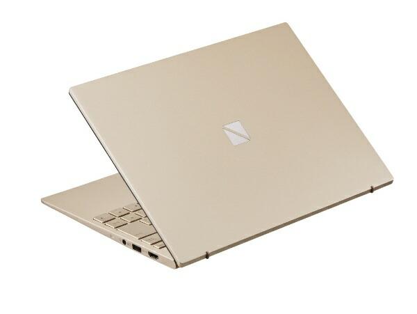 NECエヌイーシーノートパソコンLAVIEProMobileフレアゴールドPC-PM550SAG[13.3型/intelCorei5/SSD:256GB/メモリ:8GB/2020年夏モデル][13.3インチoffice付き新品windows10]