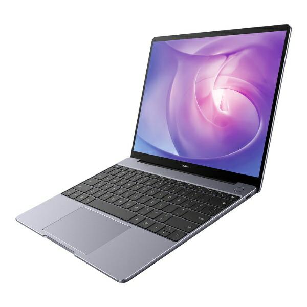 HUAWEIファーウェイHNW19RHR8BNCNNUAノートパソコンMateBook13R5-8G-25Gスペースグレー[13.0型/AMDRyzen5/SSD:256GB/メモリ:8GB/2020年6月モデル][13インチ新品windows10]