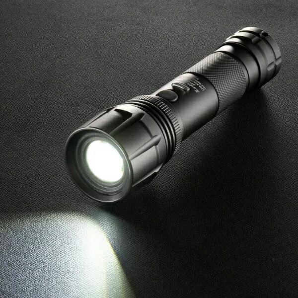 オーム電機OHMELECTRICLEDズームライトLHA-KS431PZ-K[LED/単4乾電池×3/防水]