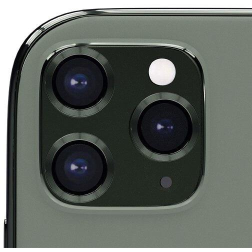 AREAエアリアiPhone11Pro/11ProMax用背面カメラレンズプロテクターエアリアミッドナイトグリーンICPT11P-MGR
