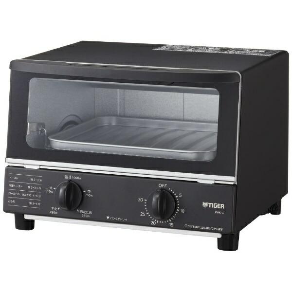 タイガーTIGERオーブントースターやきたてブラックKAK-G100-K