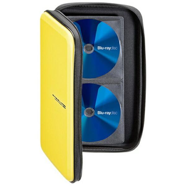 サンワサプライSANWASUPPLYBlu-ray/DVD/CD用セミハードケース56枚収納イエローFCD-WLBD56Y[FCDWLBD56Y]