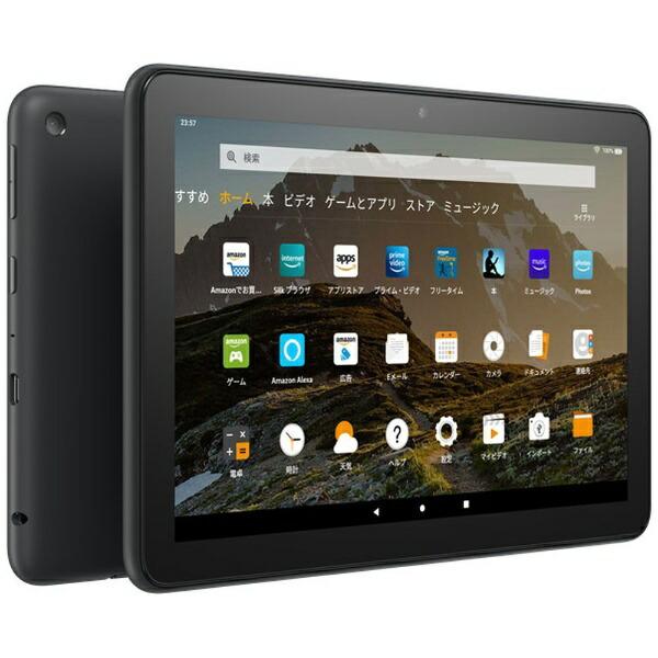 AmazonアマゾンFireタブレットPCFireHD8ブラックB07WJSJ28X[8型/ストレージ:32GB/Wi-Fiモデル][タブレット本体8インチwifi]