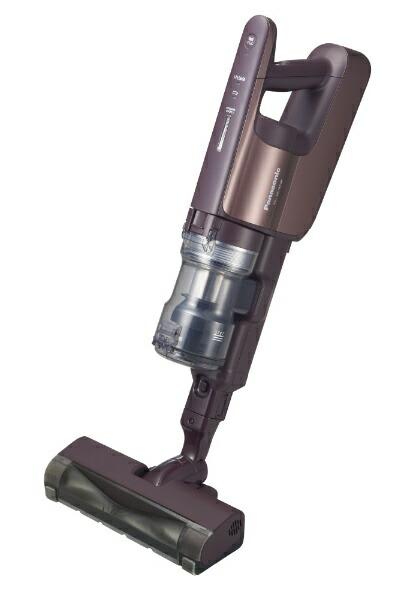 パナソニックPanasonicMC-SBU640K-Tコードレススティック掃除機パワーコードレスシャイニーブラウン[パナソニック掃除機コードレス]
