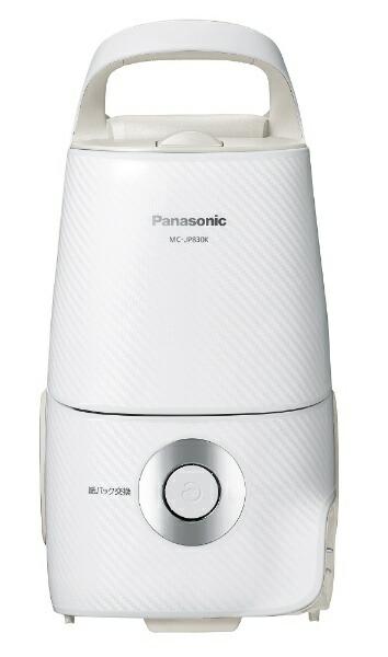 パナソニックPanasonicMC-JP830K-W紙パック式掃除機Jコンセプトホワイト[紙パック式/コード式]