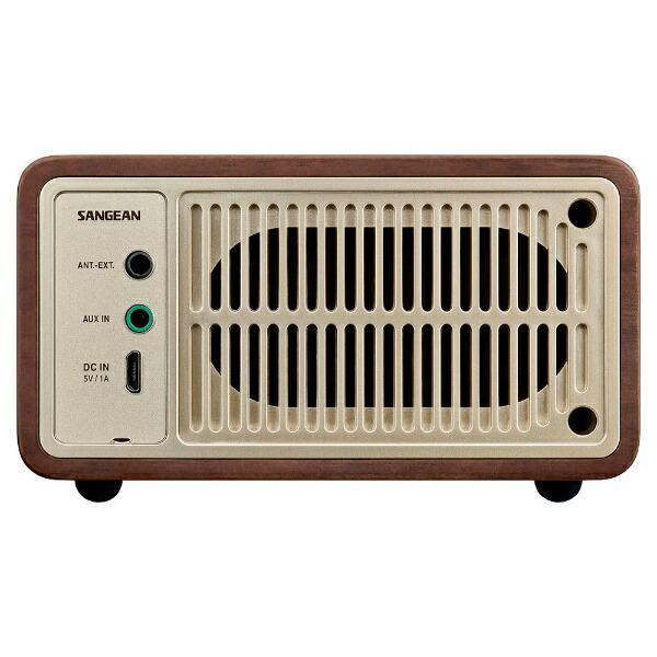SangeanサンジーンブルートゥーススピーカーWR-301ウォールナット[Bluetooth対応]