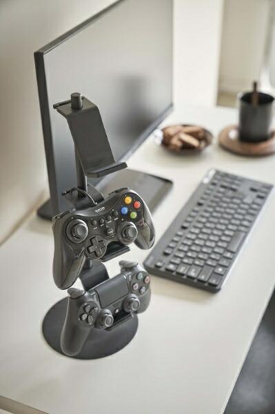 山崎実業Yamazakiスマートゲームコントローラー収納ラックブラック(GameControllerRackBK)ブラック5089