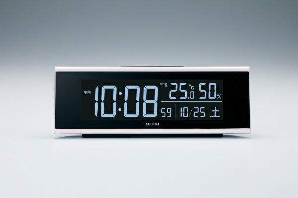 セイコーSEIKO目覚まし時計【シリーズC3】白DL307W[デジタル/電波自動受信機能有]