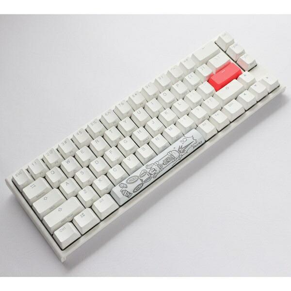 DUCKYダッキーdk-one2-rgb-sf-pw-silverゲーミングキーボードOne2SFRGBCherrySpeed銀軸(英語配列)ピュアホワイト[USB/有線]