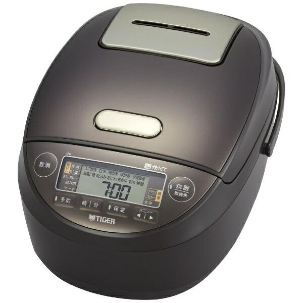 タイガーTIGERJPK-G180T炊飯器ブラウン[1升/圧力IH]