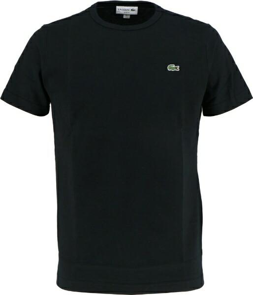 ラコステLACOSTEメンズウエアTシャツベーシッククルーネックTシャツ(半袖)(3(Sサイズ)/ノワール)TH622EM