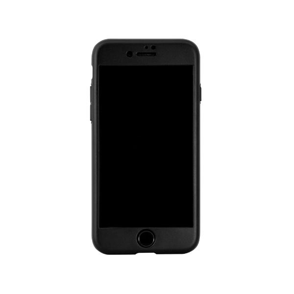 OWLTECHオウルテックiPhoneSE(第2世代)/8/7対応フルカバーハードケース画面保護ガラス付属360°包み込んでキズから守るOWLCVIC4710BKブラック