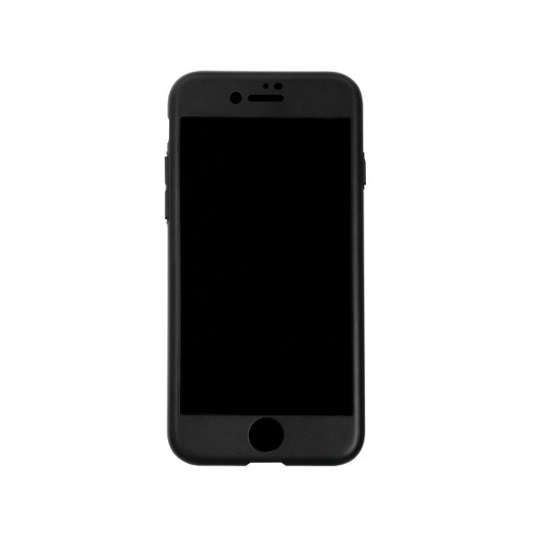 OWLTECHオウルテックiPhoneSE(第2世代)/8/7対応フルカバーハードケース画面保護ガラス付属360°包み込んでキズから守るOWLCVIC4711BKブラック