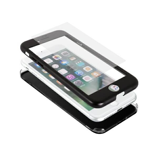 OWLTECHオウルテックiPhoneSE(第2世代)/8/7対応フルカバーハードケース画面保護ガラス付属360°包み込んでキズから守るOWLCVIC4711CLクリア