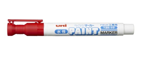 三菱鉛筆MITSUBISHIPENCIL工業用水性ペイントマーカー赤