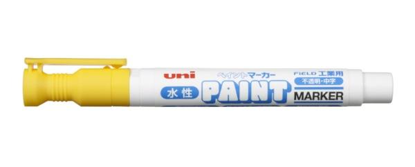 三菱鉛筆MITSUBISHIPENCIL工業用水性ペイントマーカー黄