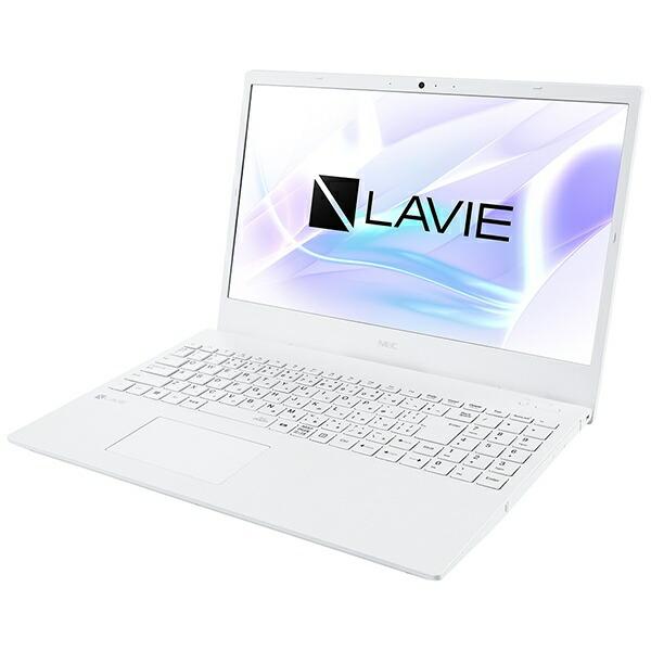 NECエヌイーシーPC-N1510AAWノートパソコンLAVIEN15(N1510/AA)パールホワイト[15.6型/AMDAthlon/HDD:500GB/メモリ:4GB/2020年夏モデル][15.6インチoffice付き新品windows10]