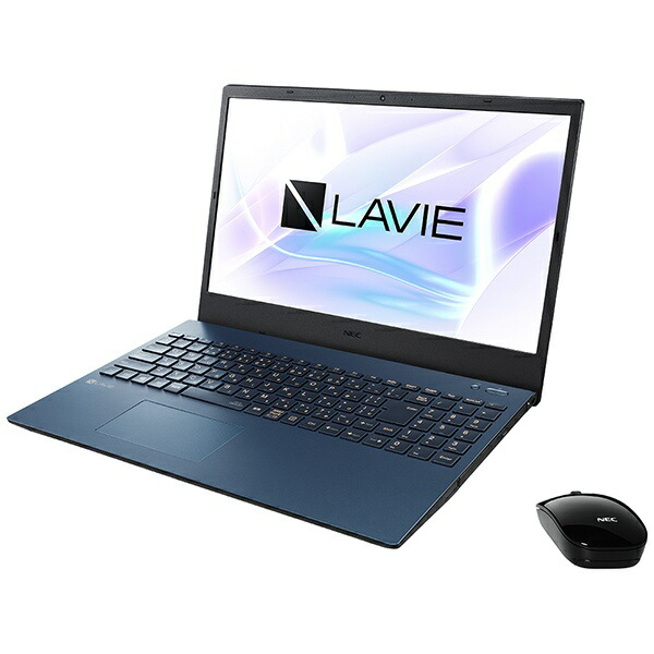 NECエヌイーシーノートパソコンLAVIEN15シリーズネイビーブルーPC-N1566AZL-2[15.6型/AMDRyzen7/SSD:512GB/メモリ:8GB/2020年夏モデル][15.6インチoffice付き新品windows10]