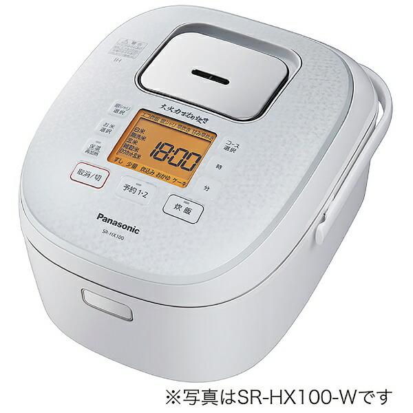 パナソニックPanasonic炊飯器ホワイトSR-HX180-W[IH/1升]