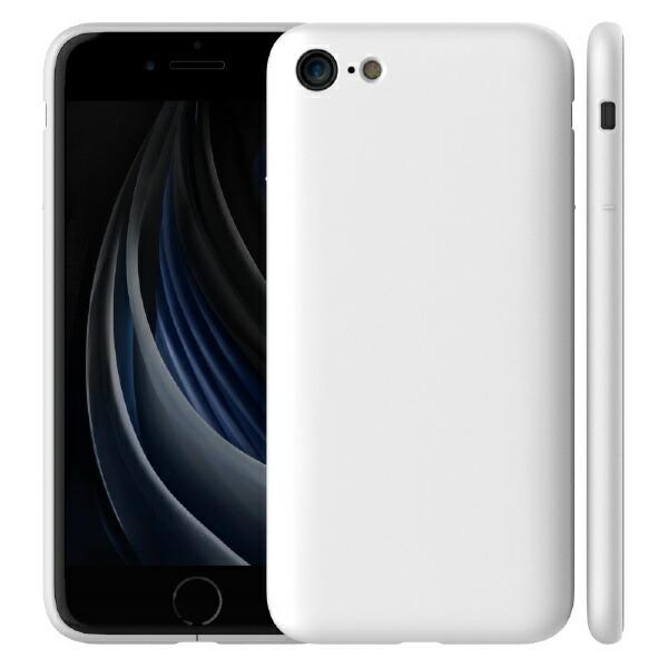 アンドデザイン&designiPhoneSE(2020)/8/7MYNUSCASEマットホワイト
