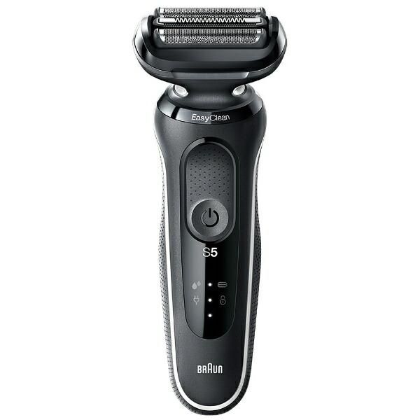 ブラウンBRAUN50-W1000Sメンズシェーバーシリーズ5ホワイト[3枚刃/国内・海外対応][電気シェーバー男性髭剃り]