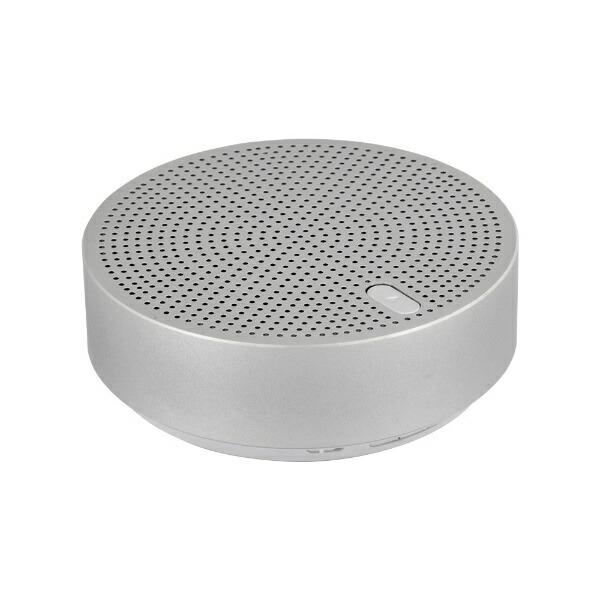 OWLTECHオウルテックブルートゥーススピーカーOWL-BTSP03S-SIシルバー[Bluetooth対応]