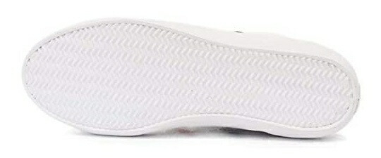 ラコステLACOSTEレディーススニーカーLERONDTRI1(39A(24.5cm)/ホワイト×ネイビー×レッド)CFA0087