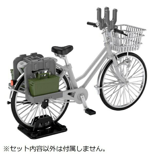 トミーテックTOMYTEC1/12LittleArmory[LM006]通学自転車(指定防衛校用)シルバー