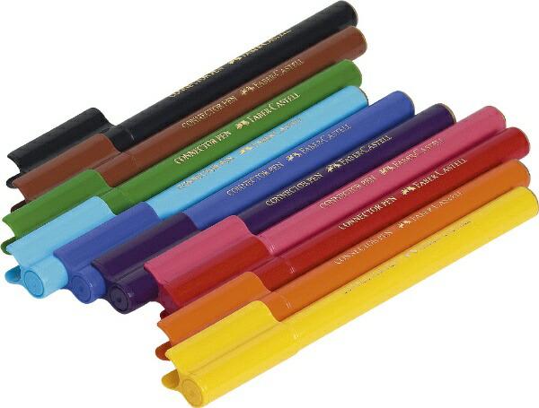 ファーバーカステルFaber-Castell10本セットコネクターペン