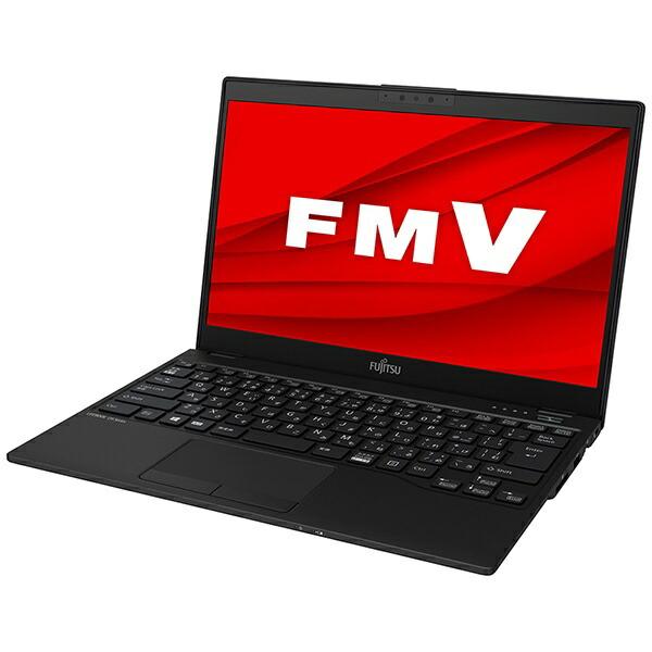 富士通FUJITSUFMVU90E2BノートパソコンLIFEBOOKUH90/E2ピクトブラック[13.3型/intelCorei7/SSD:512GB/メモリ:8GB/2020年夏モデル][13.3インチoffice付き新品windows10]