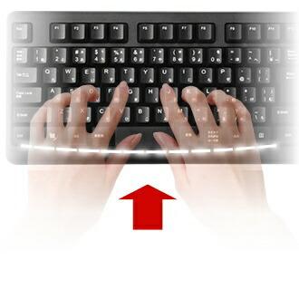 BUFFALOバッファローキーボードブラックBSKBW128BK[USB/ワイヤレス]