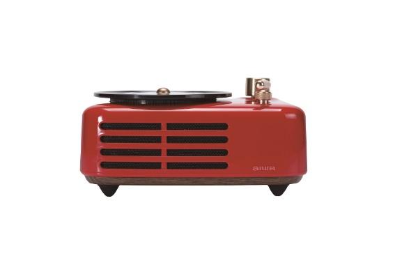 aiwaアイワブルートゥーススピーカーSB-LFS30-Rレッド[Bluetooth対応]