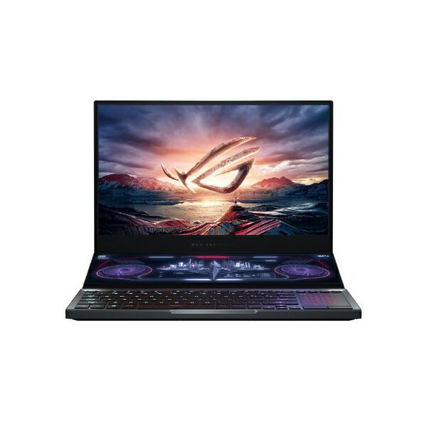 ASUSエイスースゲーミングノートパソコンROGZephyrusDuo15(4K)グレーGX550LXS-I9R2080S[15.6型/intelCorei9/SSD:2TB/メモリ:32GB/2020年8月モデル]