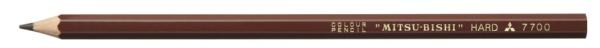 三菱鉛筆MITSUBISHIPENCIL色鉛筆バラ茶色