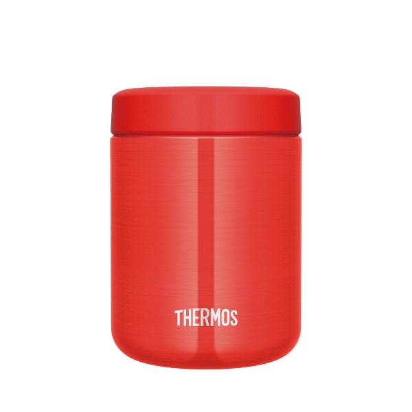 サーモスTHERMOS真空断熱スープジャー500mlレッドJBR-500