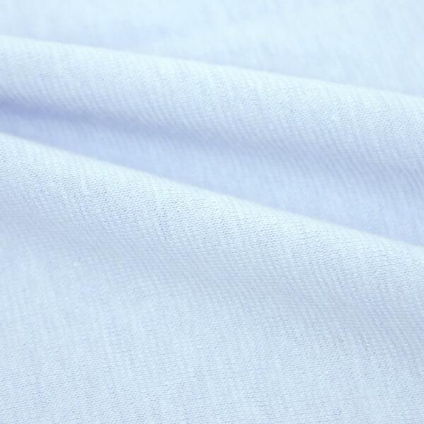 小栗OGURI【まくらカバー】綿ニットカラー(50×70cm/サックス)