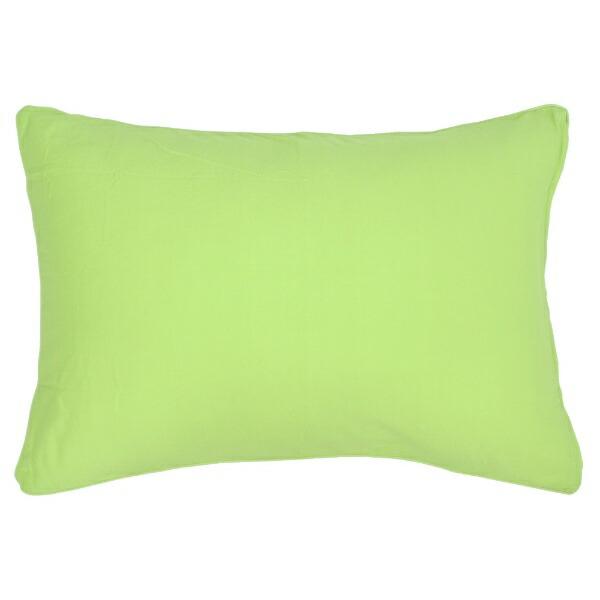 小栗OGURI枕カバー綿ニットカラー43×90cm綿100%グリーンNT4390-53