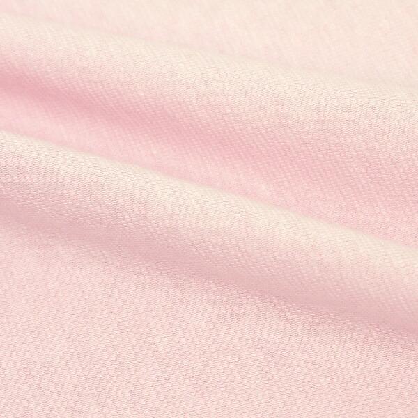 小栗OGURI枕カバー綿ニットカラー43×63cm綿100%ピンクNT4363-16