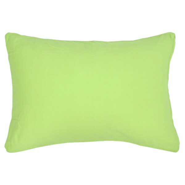 小栗OGURI枕カバー綿ニットカラー43×63cm綿100%グリーンNT4363-53