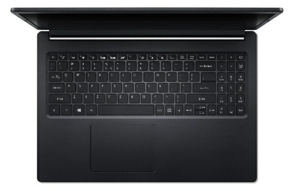ACERエイサーノートパソコンAspire3チャコールブラックA315-34-A14U/K[15.6型/intelCeleron/SSD:256GB/メモリ:4GB/2020年8月モデル]