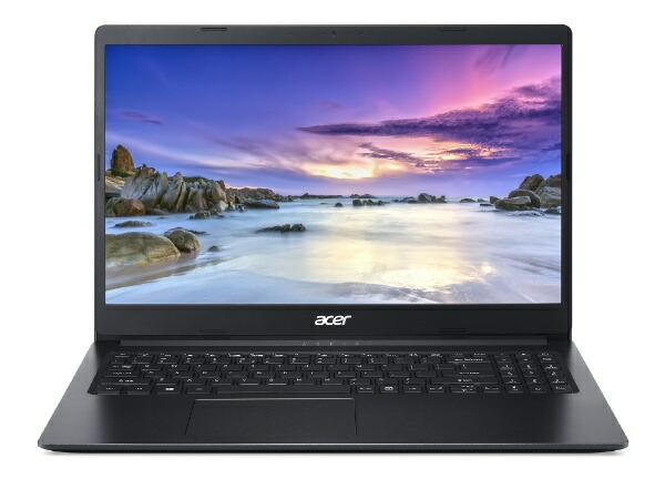 ACERエイサーノートパソコンAspire3チャコールブラックA315-34-A14U/KF[15.6型/intelCeleron/SSD:256GB/メモリ:4GB/2020年8月モデル]