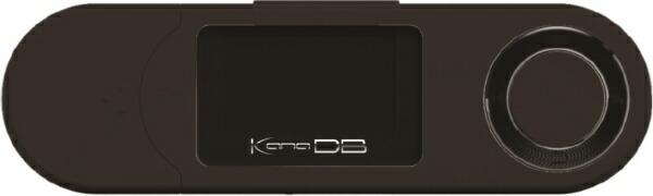 グリーンハウスGREENHOUSEデジタルオーディオプレーヤーブラックGH-KANADBS8-BK[8GB]