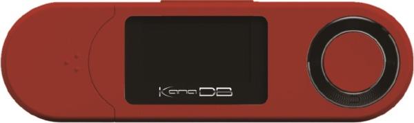 グリーンハウスGREENHOUSEデジタルオーディオプレーヤーレッドGH-KANADBS8-RD[8GB]