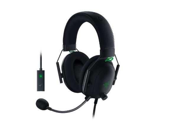 RAZERレイザーRZ04-03230100-R3M1ゲーミングヘッドセットBlackSharkV2[φ3.5mmミニプラグ+USB/両耳/ヘッドバンドタイプ]