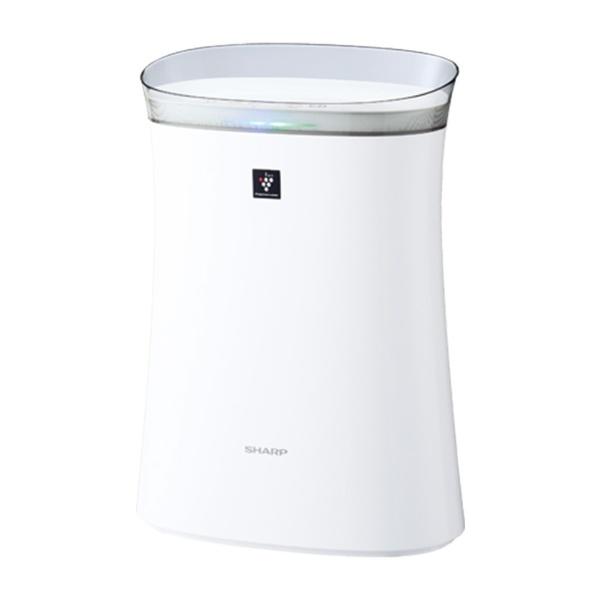 シャープSHARP空気清浄機ホワイト系FU-N50BK-W[適用畳数:23畳/PM2.5対応]【point_rb】